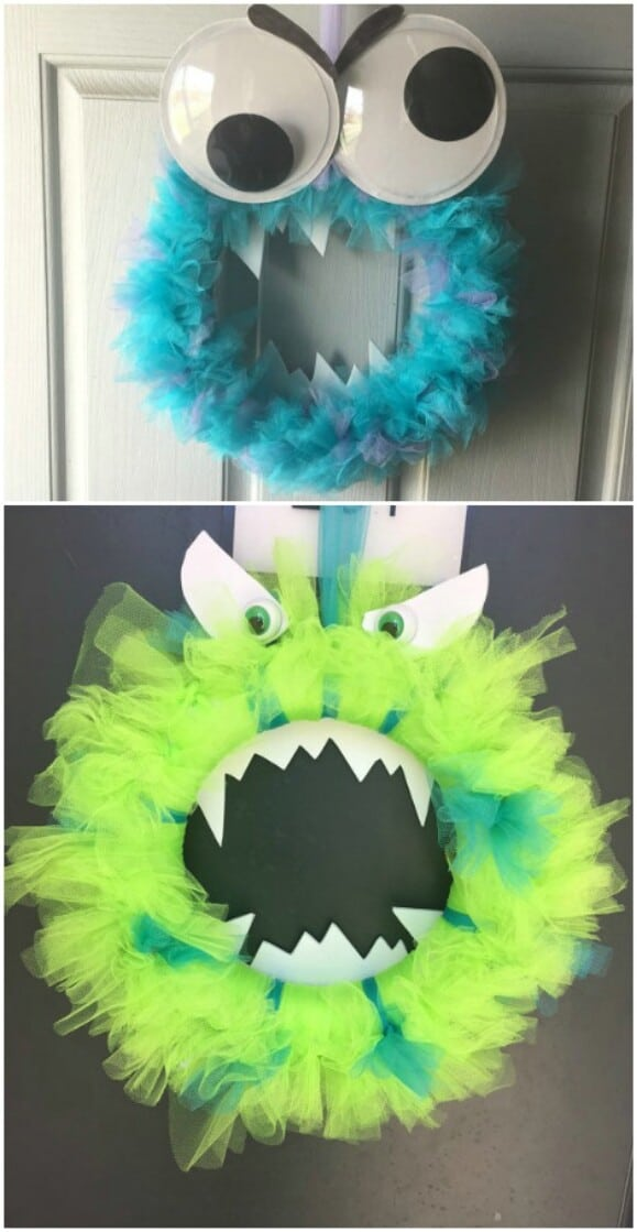 23. Fearsome Monster Wreath