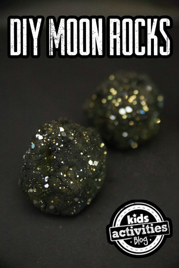 25. DIY Moon Rocks