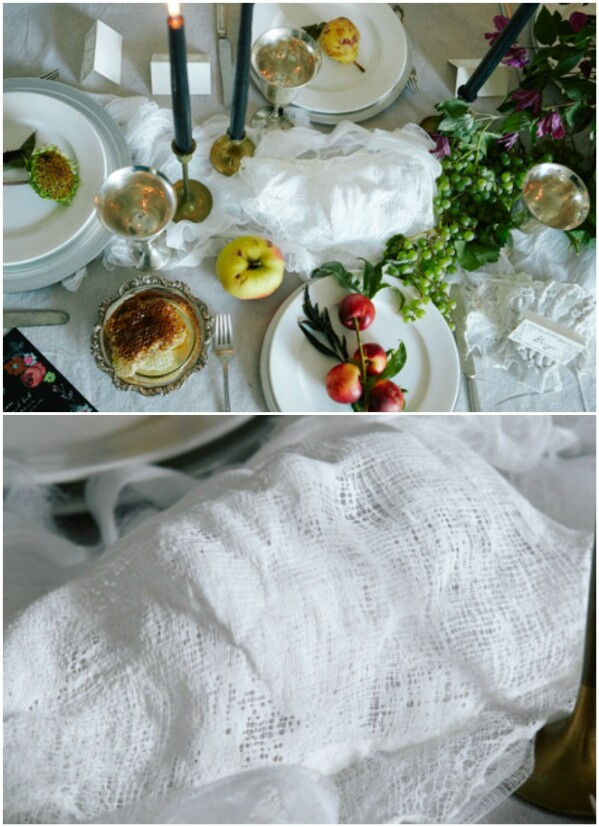 Ghostly Tablecloth