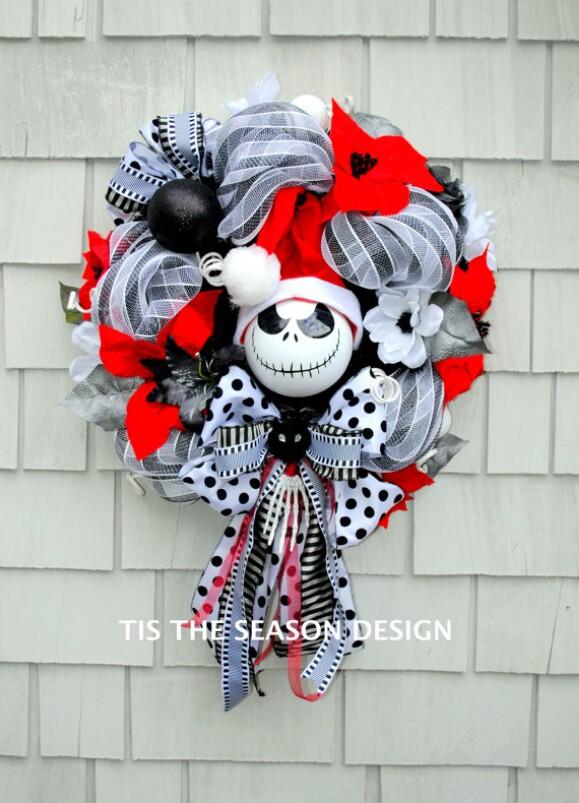 28. Nightmare Before Christmas Wreath
