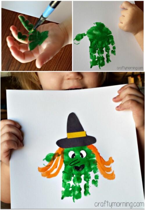 Handprint Witch
