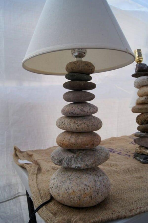 32. Stone Lamp