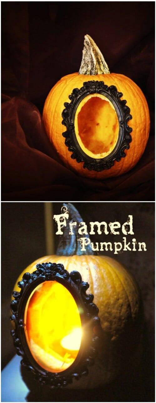 66. Frame a Pumpkin