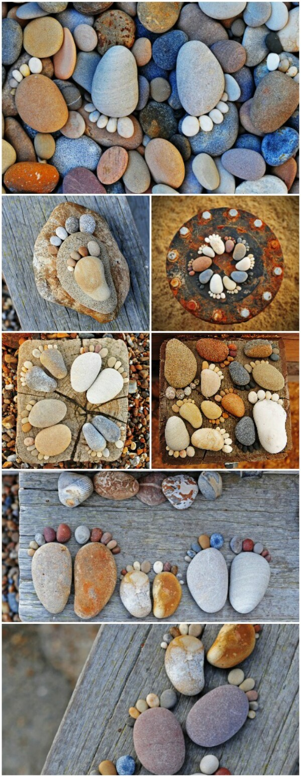 40 Gorgeous Diy Stone Rock And Pebble Crafts To Beautify Your Life