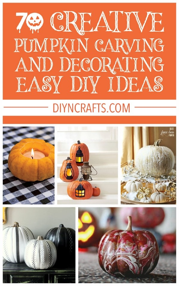 Pumpkin carving and decorating projects.