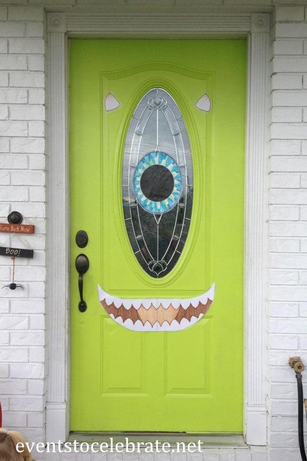 Mike Wazowski Door