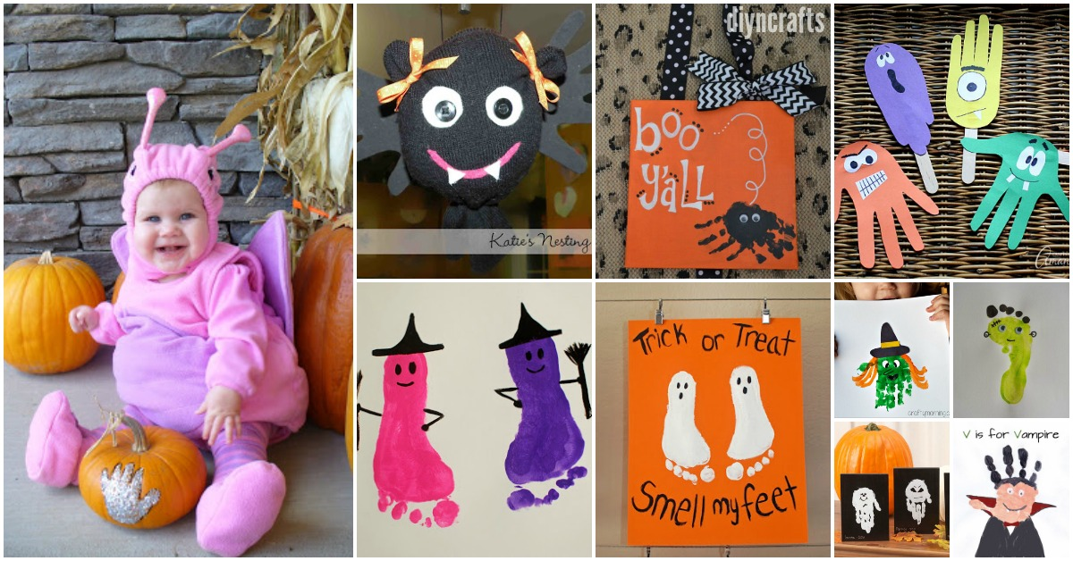Halloween Handprint Art Projects