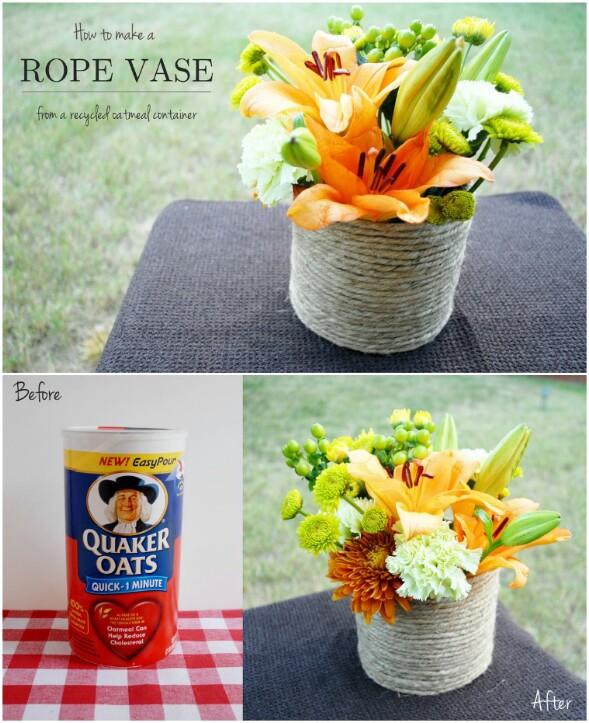 Roped Vase