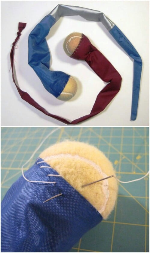 DIY Foxtail Toy