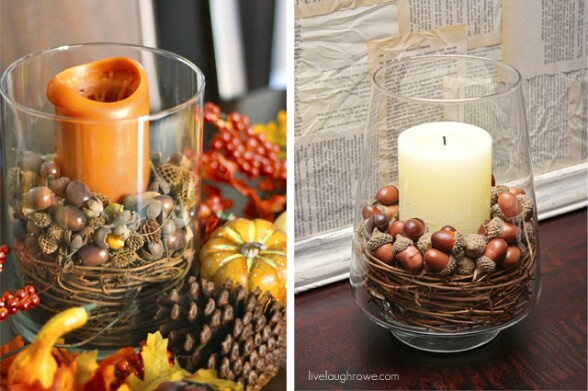 Pottery Barn Inspired Candles