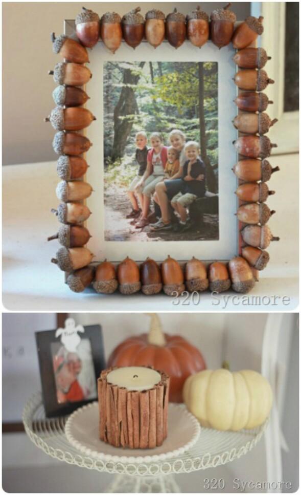 Acorn Photo Frames