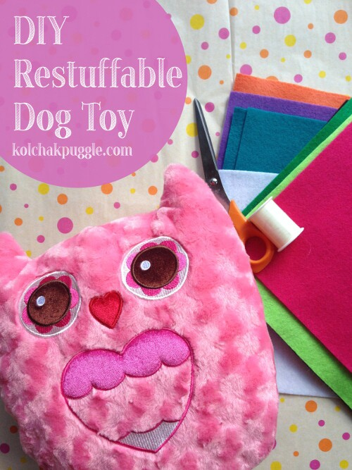DIY Re-Stuffable Dog Toy