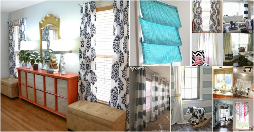 20 Elegant And Easy Diy Curtain Ideas To Dress Up Your