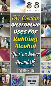 56 Genius Alternative Uses for Rubbing Alcohol You've Never