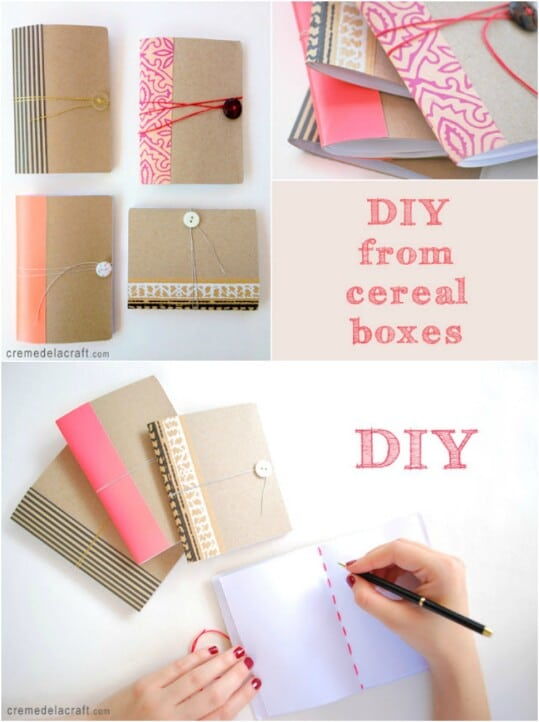 Make a mini-pocket notebook.