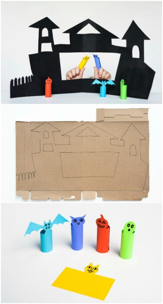 Make a puppet palace.