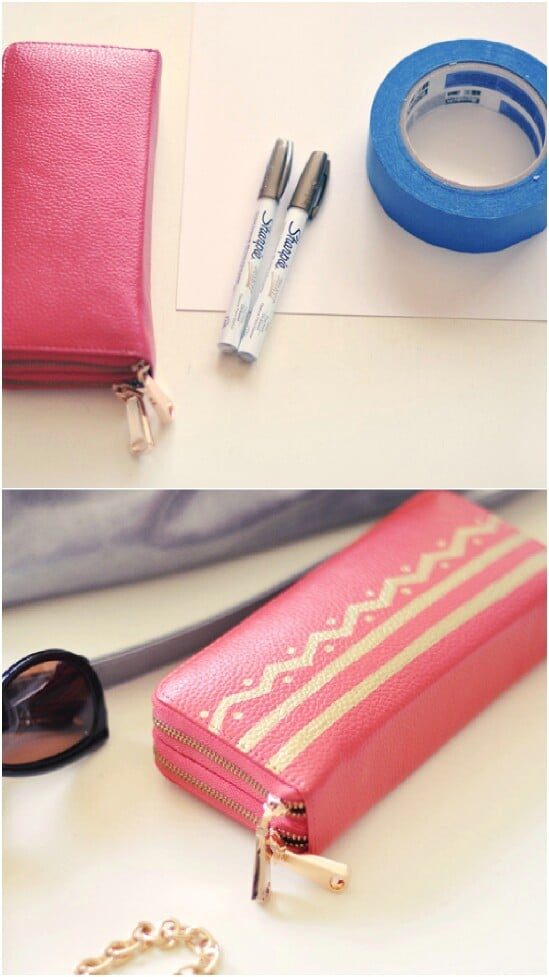 Sharpie Chevron Wallet