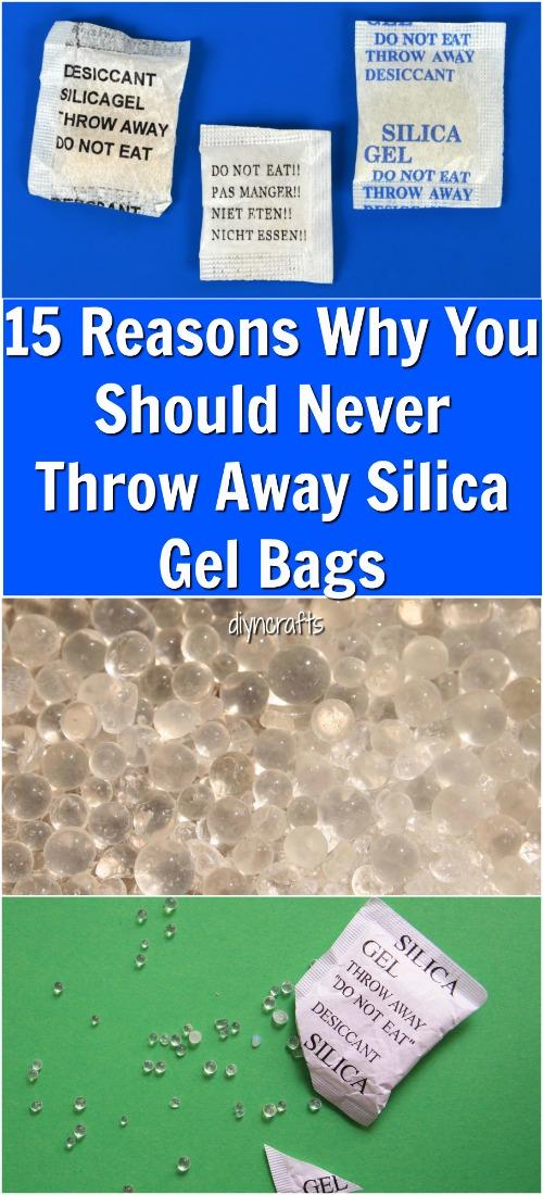 15 lý do tại sao bạn không bao giờ nên vứt bỏ túi gel Silica {Video}