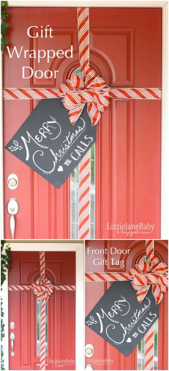 Gift Wrapped Door