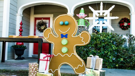 DIY Gingerbread Man
