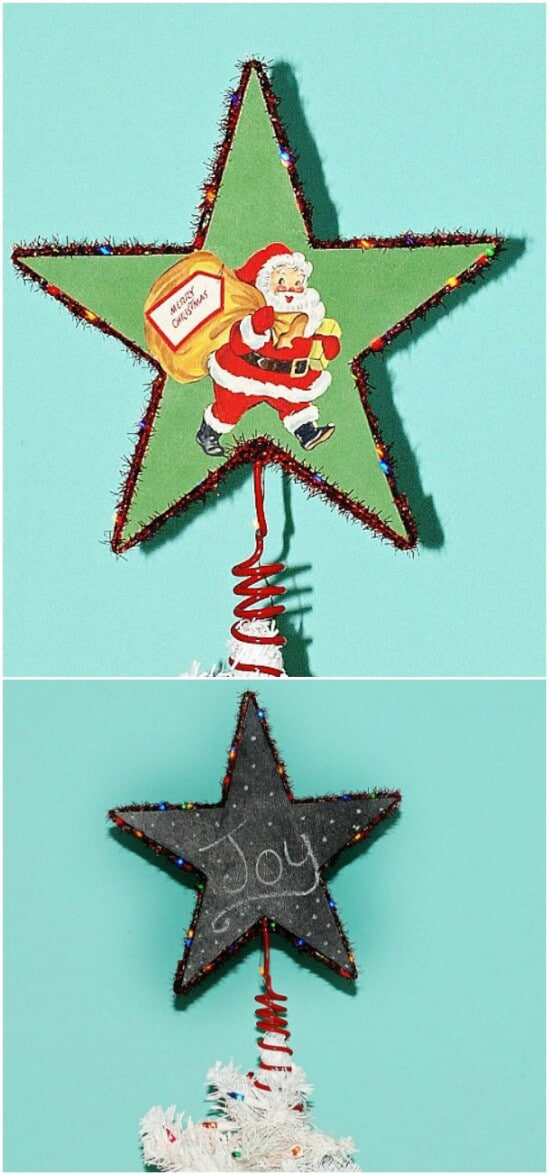 Double Sided Star Topper