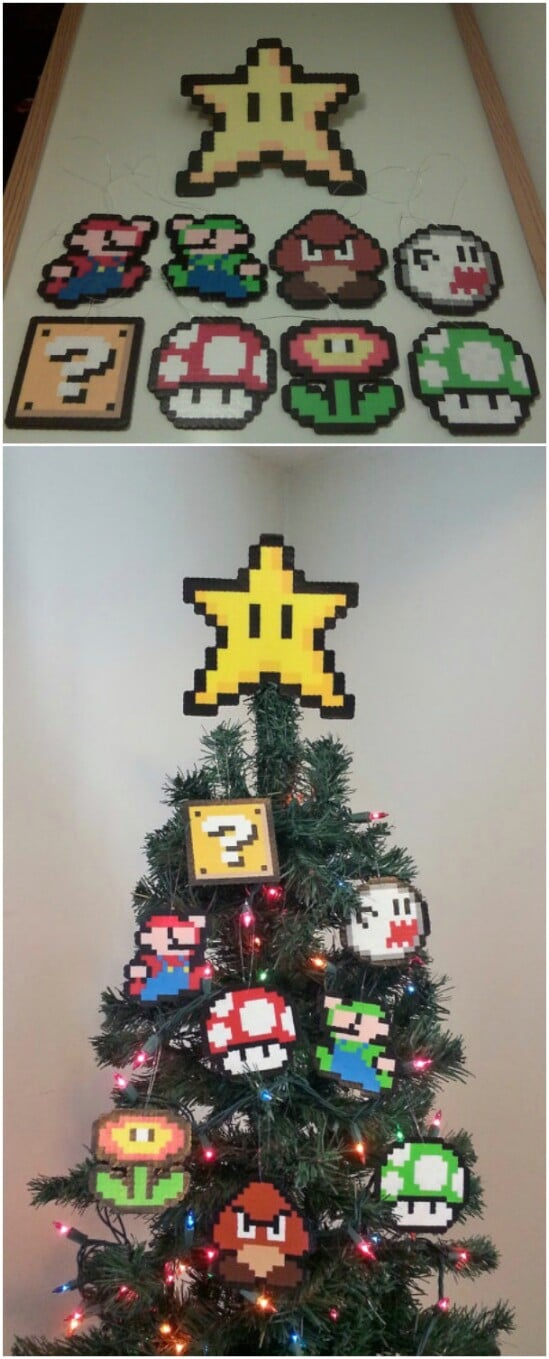 Videogame-Inspired Perler Toppers