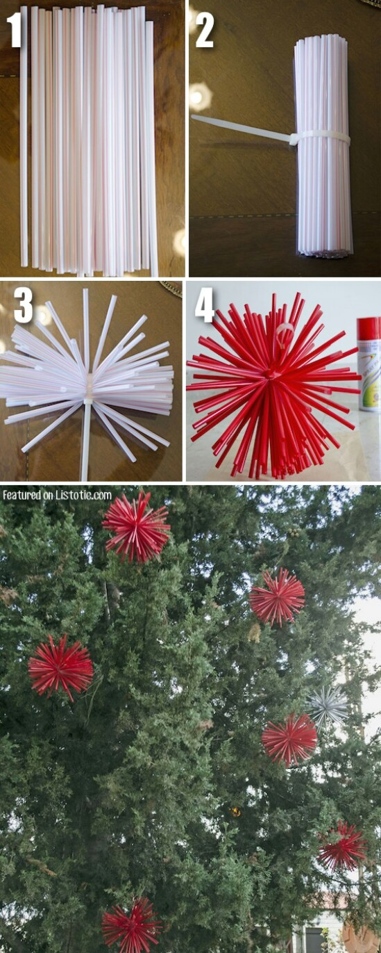 DIY Starburst Ornaments