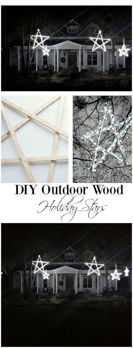 DIY Wooden Stars