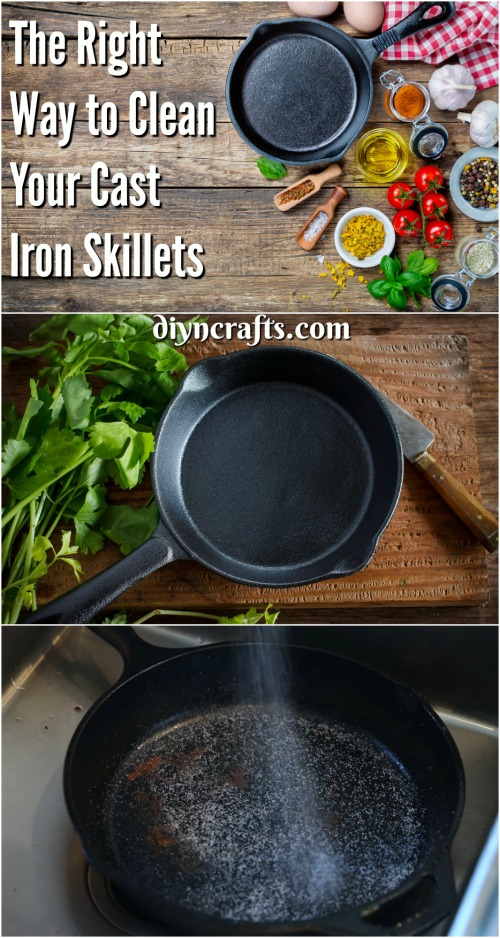 Here Is the Right Way to Clean Your Cast Iron Skillets