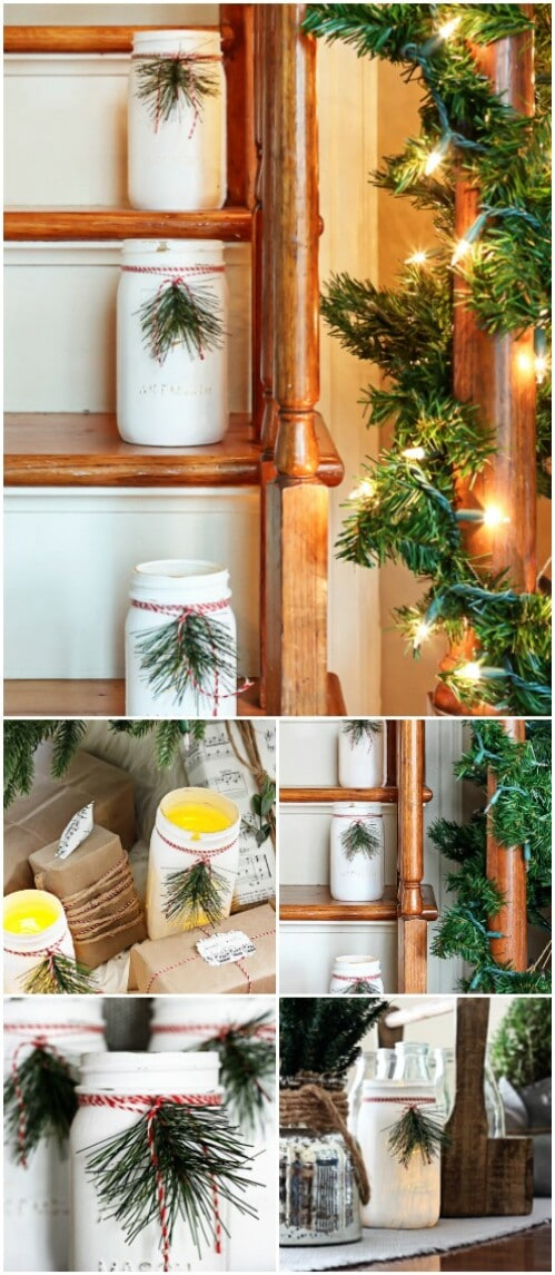 Mason Jar Luminaries