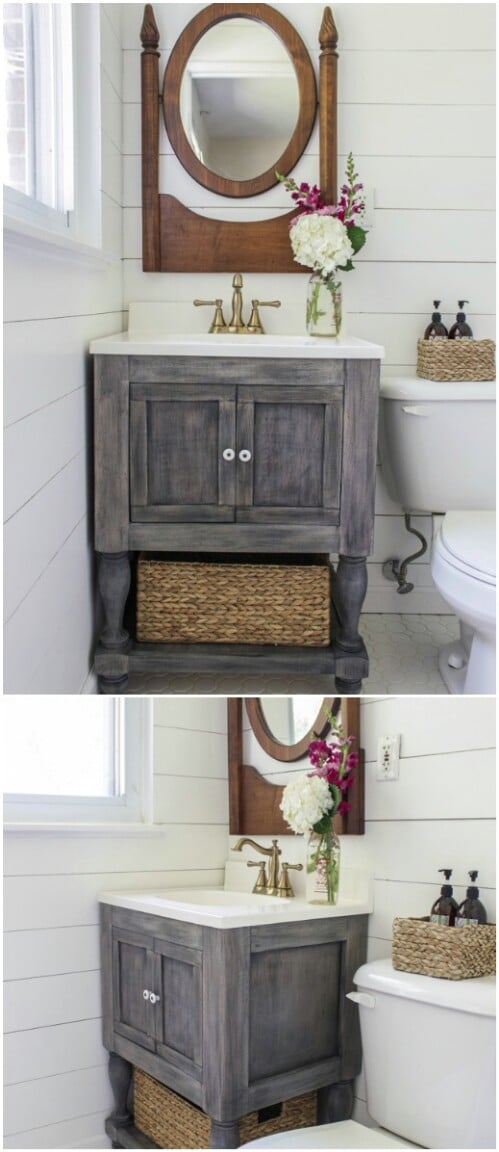 DIY Rustic Farmhouse Vanity