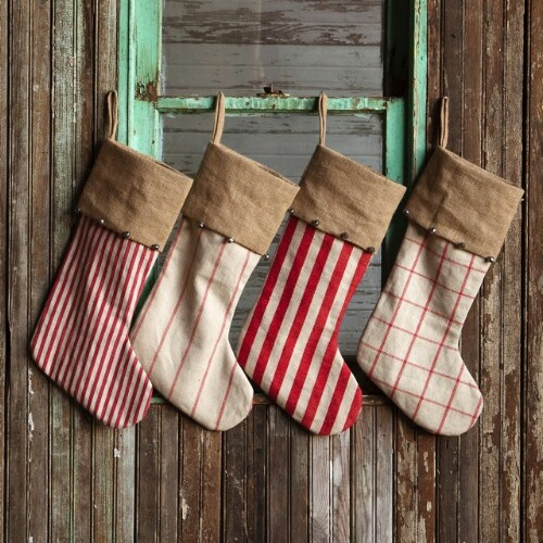 Rustic Country Stockings