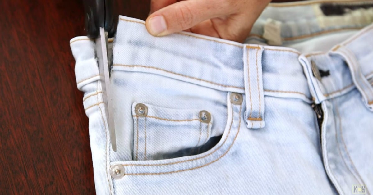 How To Make Any Pair Of Jeans Perfect For Maternity Diy
