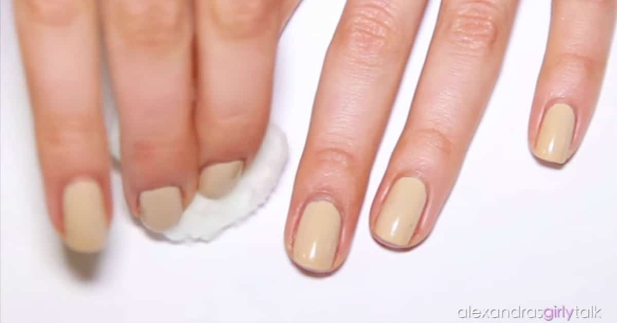 How To Paint Your Nails Perfectly In