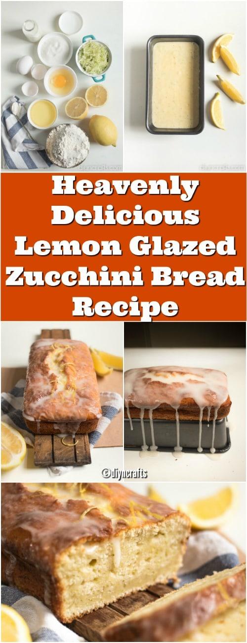 Công thức bánh mì Zucchini thơm ngon tuyệt vời