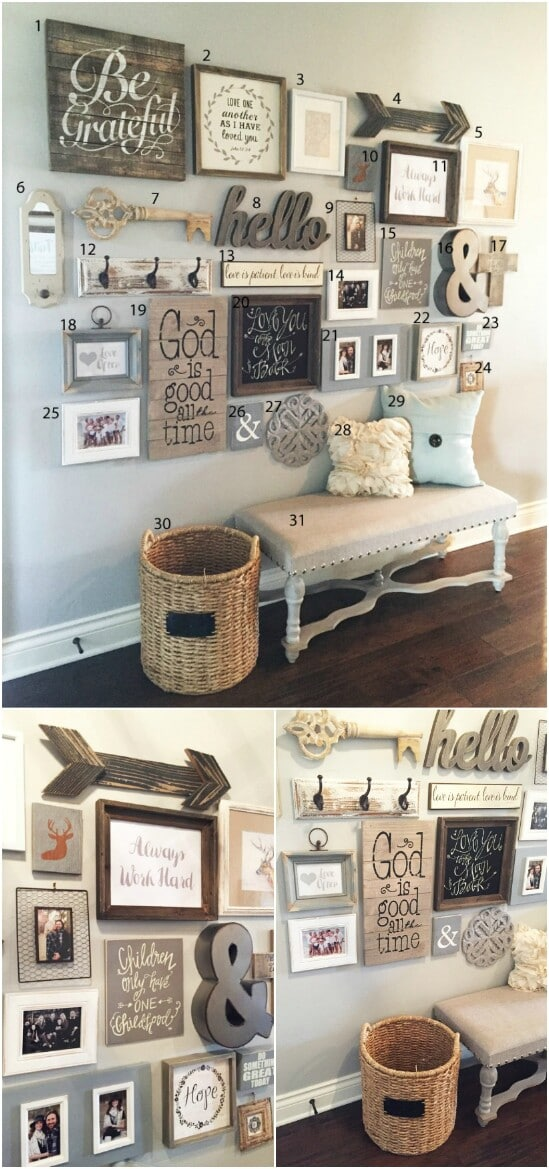 55 Gorgeous Diy Farmhouse Furniture And Decor Ideas For A Rustic Country Home Diy Crafts