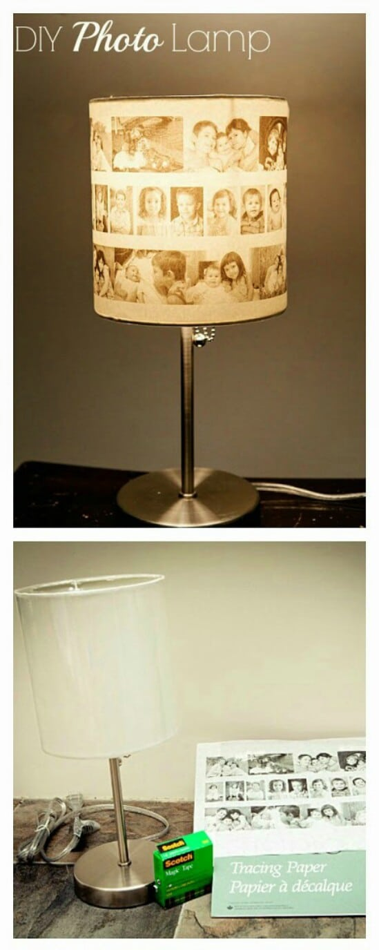 DIY Picture Lampshade