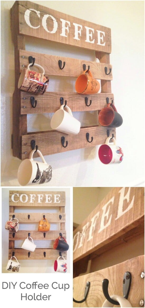 Pallet Coffee Station