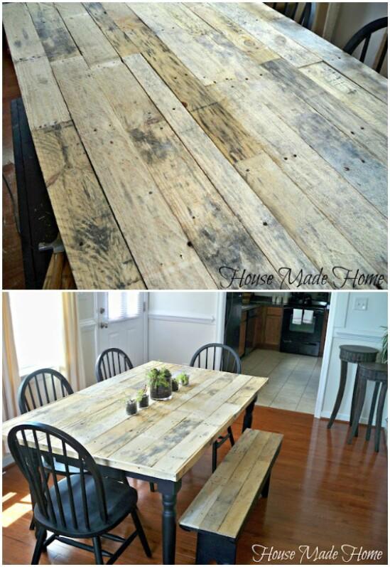 Pallet Farmhouse Table