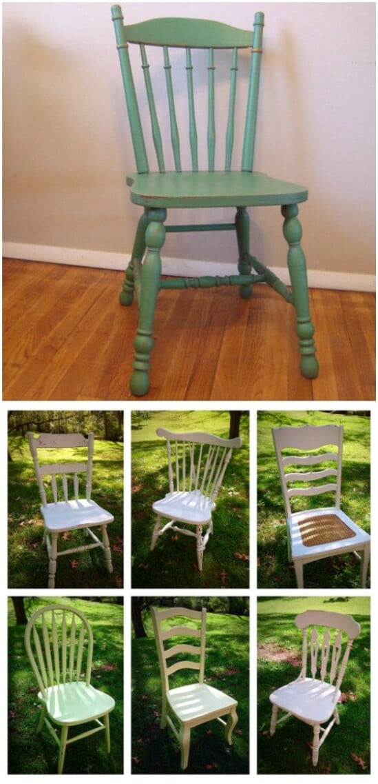 Farmhouse Distressed Chairs