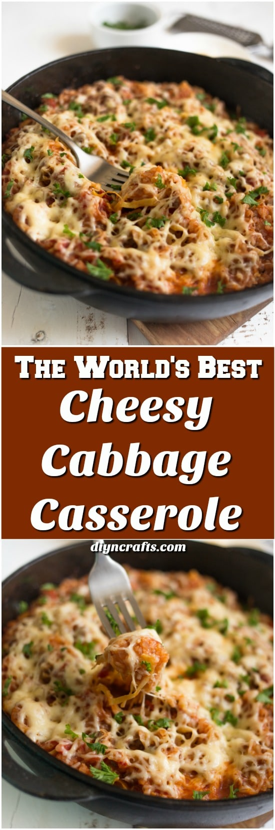 The World's Best Cheesy Cabbage Casserole That Will Leave You Drooling