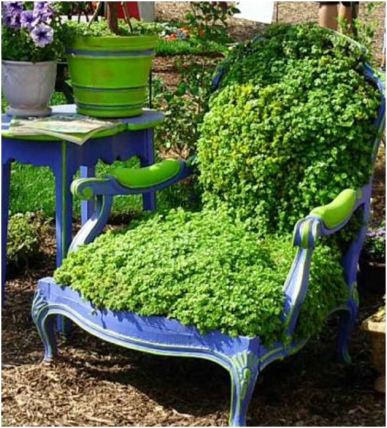 Armchair Planter