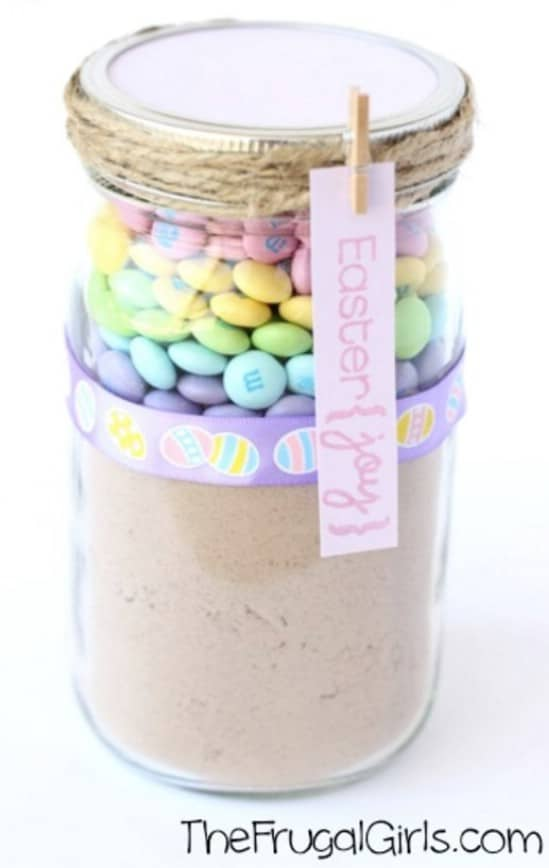 Easter M&M Cookie Jar Mix