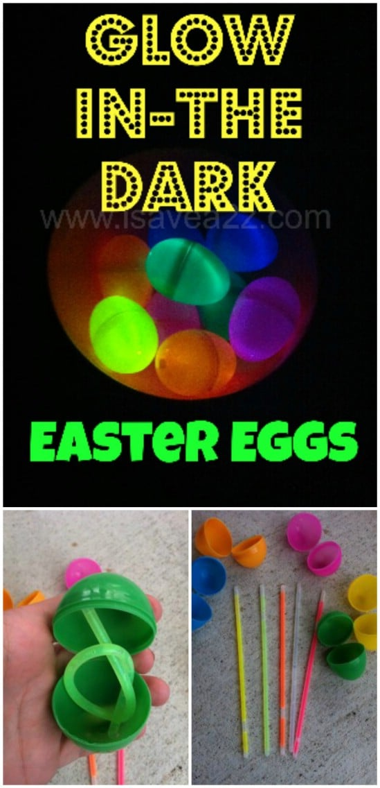 Glow In The Dark Easter Eggs - 25 Amazingly Fun Glow In The Dark DIY Projects For Kids