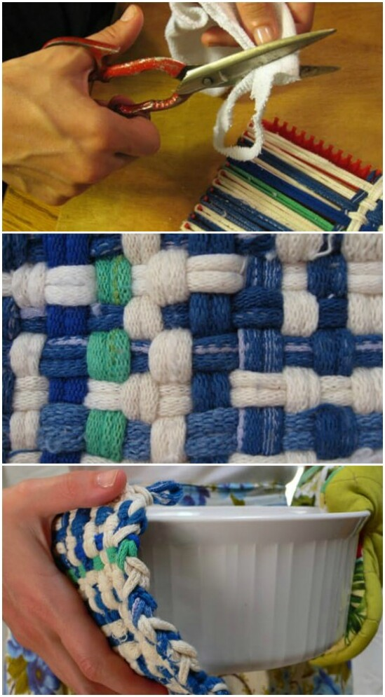 DIY Sock Pot Holders