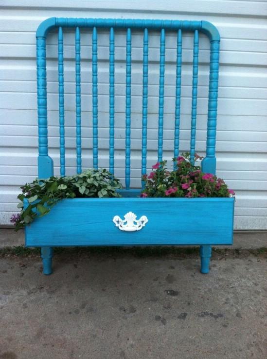 Baby Crib Planter