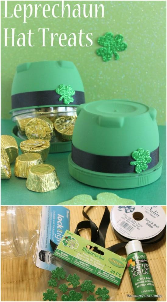 DIY Leprechaun Hat Treats
