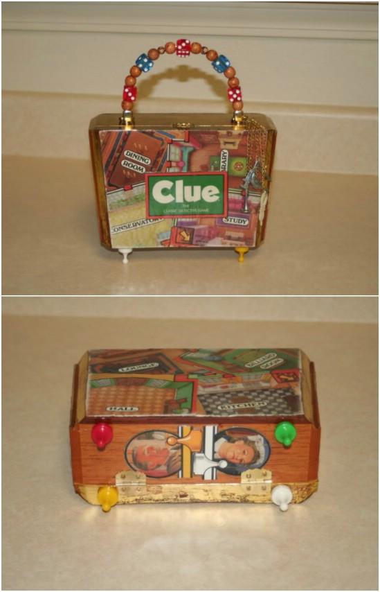 Clue Game Cigar Box Purse
