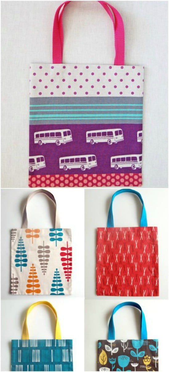 60 Gorgeous DIY Tote Bags With Free Patterns For Every