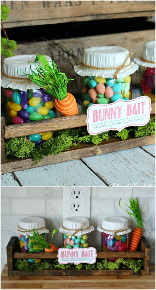25 Mason Jar Easter Crafts For Gifts Home Decor And More Diy Crafts